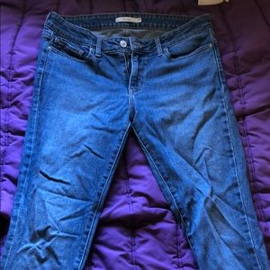 Levi's 711 Medium Wash Skinny Jeans